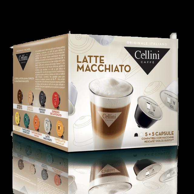 10 latte-macchiato-dolce-gusto-compatible-capsules