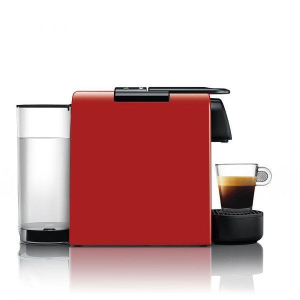 Nespresso Essenza mini crvena bok