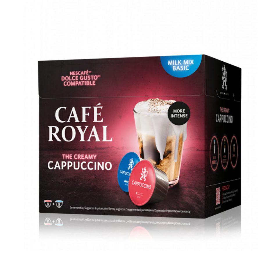 Cafe Royal DG cappuccino