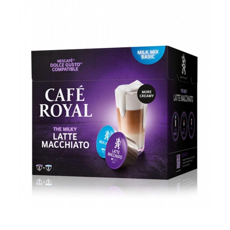 Cafe Royal DG latte macchiato