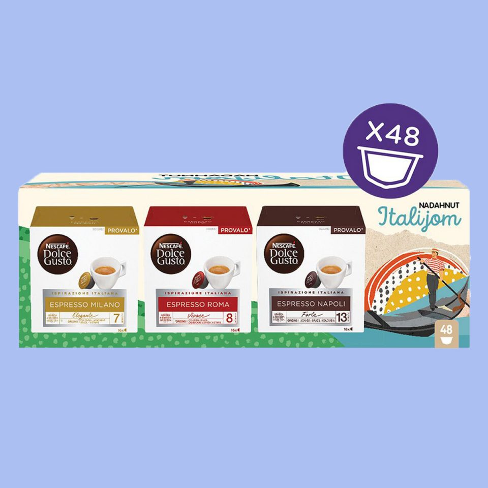 Dolce Gusto Italy mix