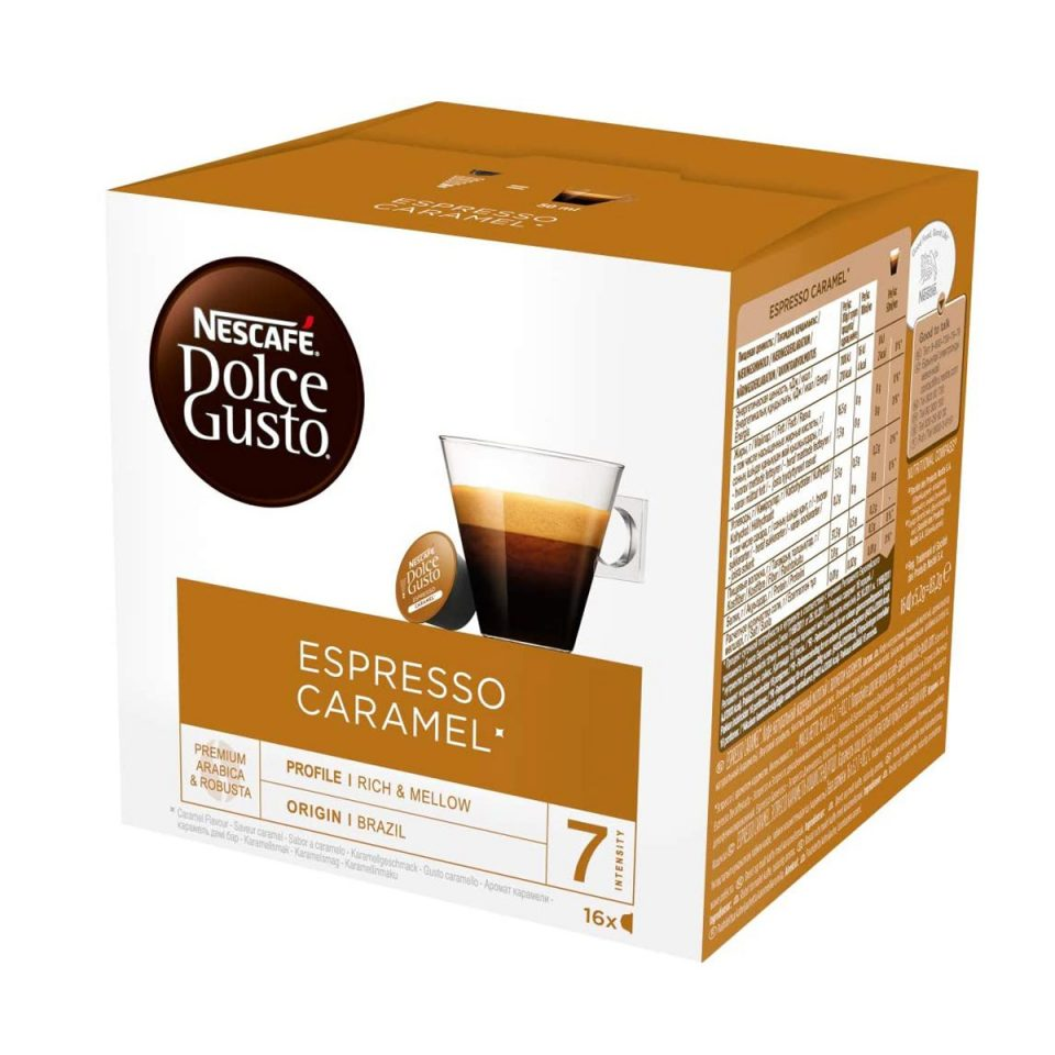 dolce gusto espresso caramel kapsule