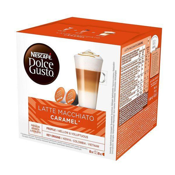 NESCAFÉ® Dolce Gusto® Latte Macchiato Caramel kava 16 kapsula