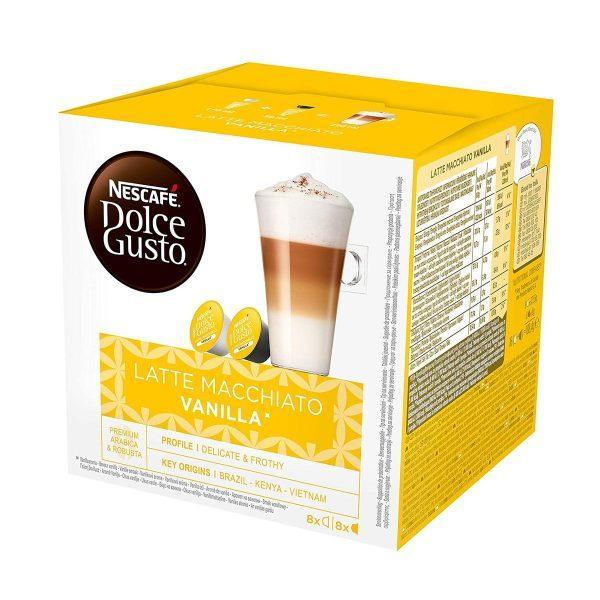 dolce gusto latte vanilla kapsule