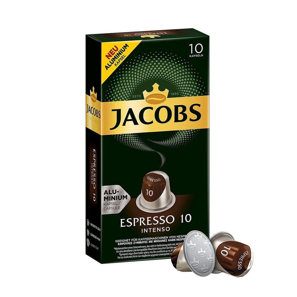 Jacobs Nes kapsule espresso intenso