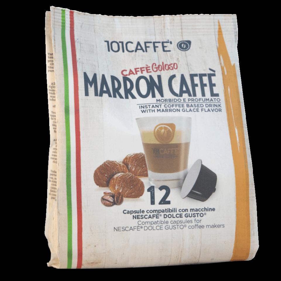 101 Caffe Marron Dolce Gusto kapsule 12/1