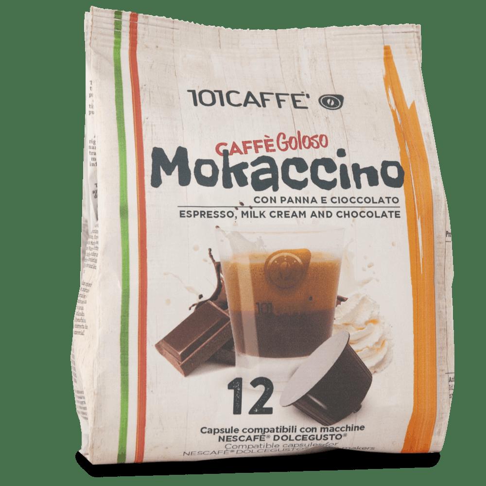 101 Caffe Mokaccino Dolce Gusto kapsule 12/1