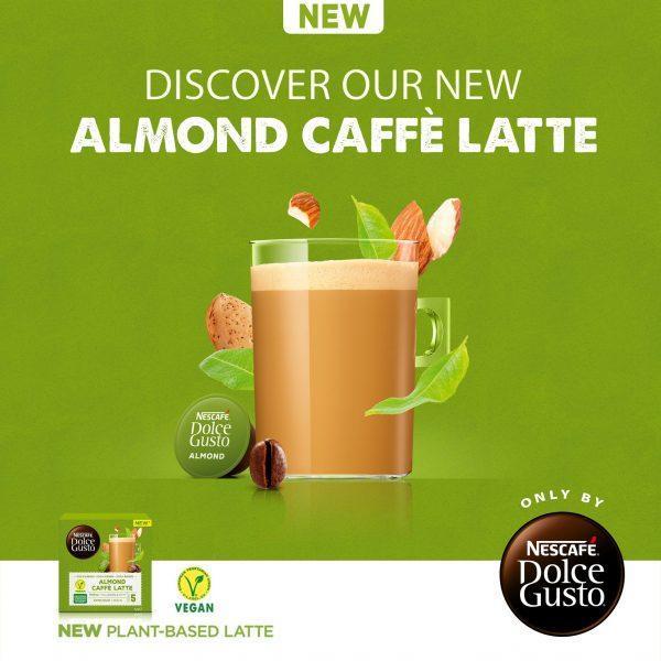 Nescafe dolce gusto almond macchiato